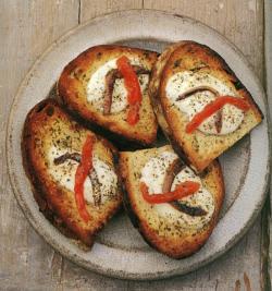 cuisine italienne, antipasti à la napolitaine