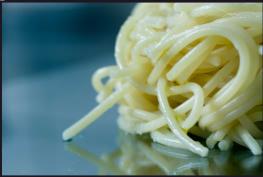 cuisine italienne, pates au beurre