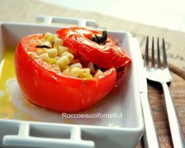 Tomates farcies de pâtes