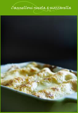 Cannelloni la roquette et mozzarella cuisine italienne cuisine italienne - Cuisine italienne cannelloni ...