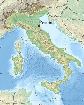 Ravenne, en Italie
