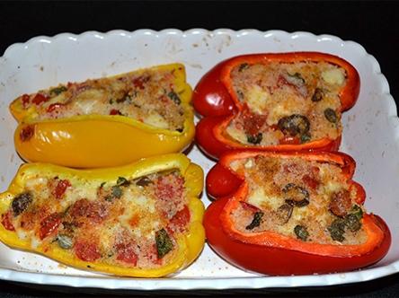 Poivrons farcis des pouilles cuisine italienne cuisine for Acheter sa cuisine en italie