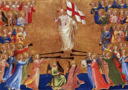 La résurrection Fra Angelico, 15ème siècle