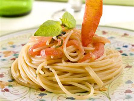 Spaghetti crudaiola