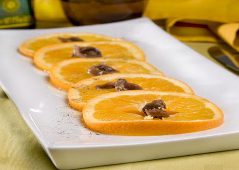 recette italienne salade orange