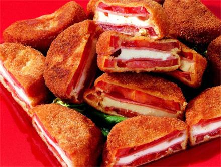 recette italienne tomates en carrosse