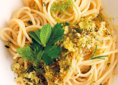 spaghetti aux herbes recette italienne