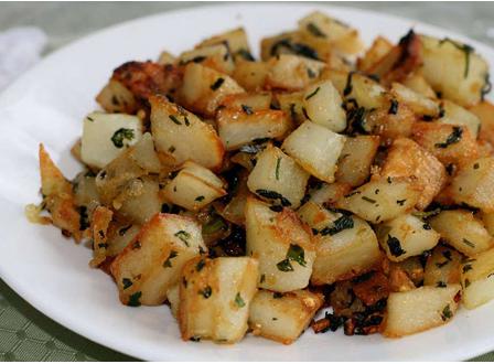 Pommes de terre à la vénitienne