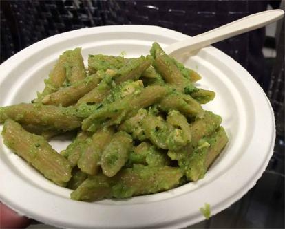 cuisine italienne penne brocoli saumon