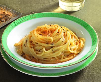 spaghetti du poète Ungaretti