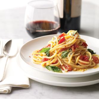 spaghetti sciue sciue, cuisine italienne