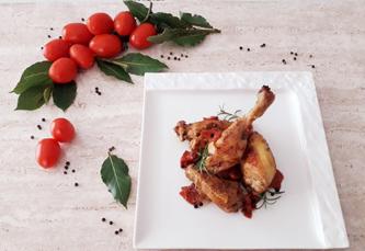 cuisine italienne, poulet à la cif et ciaff