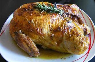cuisine italienne, poulet farci