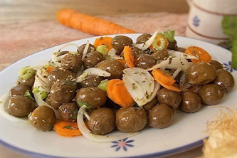 cuisine italienne, salade olive